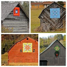 Barn Quilts: need to finish the barn so I can do this!