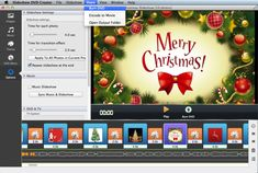 Make a DVD photo slideshow about Christmas by just adding photos and music, and make it professional-looking only by clicks. After set DVD menu title, theme, burn it into DVD so you can enjoy.