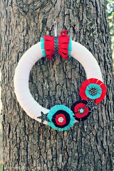 diy wreath {4th of July}