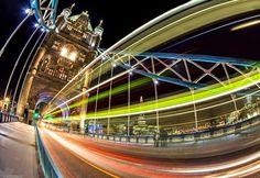 Sean Rasmussen - Google+ Warp Speed on Tower Bridge Image credit:  Jo Williams https://500px.com/mojo500