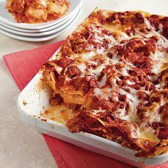 Turkey Sausage Lasagna | MyRecipes