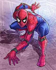Spider-Man - Marvel Comics - visit to grab an unforgettable cool 3D Super Hero…