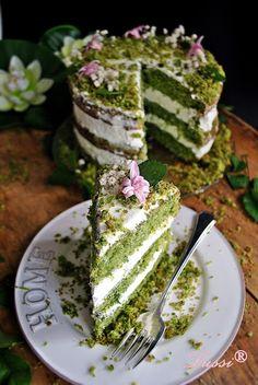 спаначена торта / Spring Spinach Cake/ torta con i spinaci Amazing Food Decoration, Dessert Decoration, Sweet Recipes, Cake Recipes, Dessert Recipes, Moss Cake, Spinach Cake, Realistic Cakes, Scones Ingredients