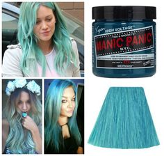 Manic Panic Glow In The Dark Semi Permanent Hair Color in Mermaid