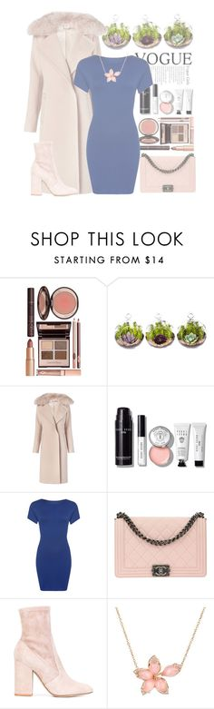 """""""Charming Intruder"""" by forever-lover1 ❤ liked on Polyvore featuring Charlotte Tilbury, Diane Von Furstenberg, Bobbi Brown Cosmetics, WearAll, Chanel, Valentino and Stephen Webster"""