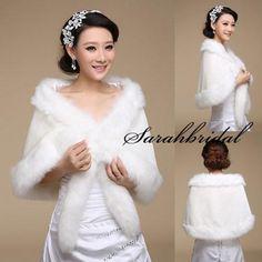 Cheap Bridal Wraps - Discount 2015 New Arrival Faux Fur Long Shrug Cape Online with $14.1/Piece | DHgate