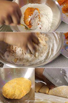 Sweet Potato Flatbread, Vegan + No Added Oil - I believe I'll try oat flour for a gluten free WFPB version