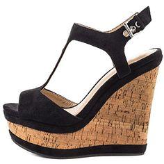 97cdb6bf0a632 MERUMOTE Women s Wedges Sandals High Platform Open Toe An... https