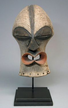 Africa | Female Kifwebe mask from the Songye people of DR Congo