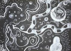 O životě a temnotě, autistic culture, autistic fiction story, autism, autismus, Aspergers syndrome, autistic woman, autistic painting