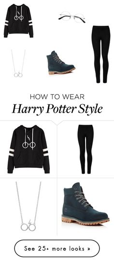 """Sans titre #763"" by islem-masmoudi on Polyvore featuring Timberland, Wolford and EyeBuyDirect.com Harry Potter Food, Harry Potter Style, Harry Potter Quotes, Harry Potter Characters, Harry Potter Filming Locations, Wolford, Timberland, Fandoms, My Style"