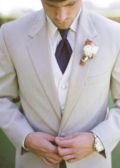 This would be perfect :)* after the reception taking off the jacket if he wanted and have on the vest . . . :) i wouldnt be able to leave him grooms men wouldnt wear jackets at all just vests so he would stand out :) even though he already would