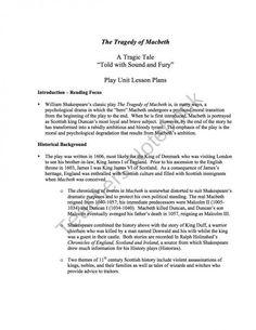 Pin On 9th 12th Grade Lady Macbeth Essay Plan