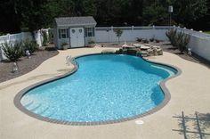 Johnson Pools - Inground Swimming Pool Picture Portfolio - Johnson Pools and Spas