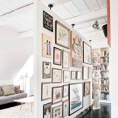Gallery via interiorhints (21)- art, decor