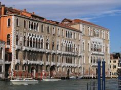 Palazzo Giustinian, Grand Canal next tо Ca' Foscari, Dorsoduro,  late 15th century.  Іt іs among the best examples оf the late Venetian Gothic.