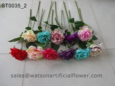 silk roses flowers by Tianjin Watson Gifts Co., Ltd.