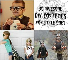30 Awesome DIY Costumes for Little Ones