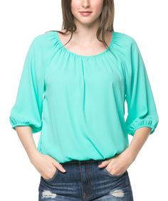 Look at this Jade Blouson Tee on #zulily today!