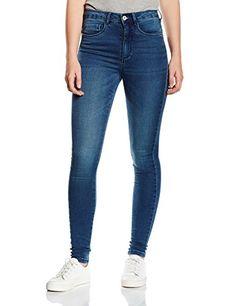 ONLY Damen Skinny Jeanshose Onlroyal High Jeans Pim504 Noos, Gr. 38/L30 (Herstellergröße: M), Blau (Medium Blue Denim)