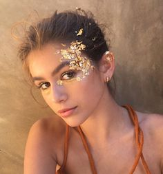 3e24740aa5b04 25 Simple   Pretty Look Angel Makeup Ideas. Glitter Face MakeupGlitter Fade  ...