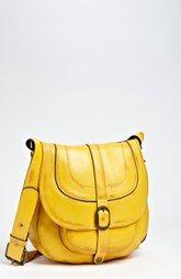 Patricia Nash 'Barcelona' Overdye Leather Crossbody Bag