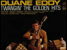 """From his 1965 RCA LP """"Twangin' the Golden Hits"""". The best performance of this instrumental in my opinion. Music Web, 70s Music, Music Songs, Good Music, Music Videos, Santo & Johnny, Duane Eddy, The Ventures, Surf Music"""