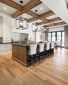New kitchen farmhouse industrial range hoods ideas Rustic Kitchen Design, Home Decor Kitchen, Home Decor Bedroom, New Kitchen, Home Kitchens, Grand Kitchen, Custom Kitchens, Kitchen Ideas, Cuisines Design