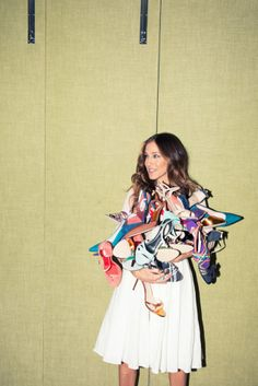 The Rules of Style as Unofficially Told by Sarah Jessica Parker | Man Repeller #shoes