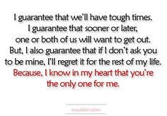 runaway bride quote - i want this kind of love