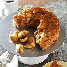 Apple-Bourbon Monkey Bread