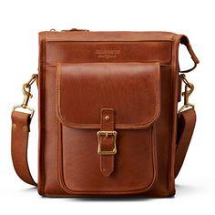 j.w. hulme correspondent bag. - nice crossbody, reminds me of a field bag. leather, quality, usa. lj