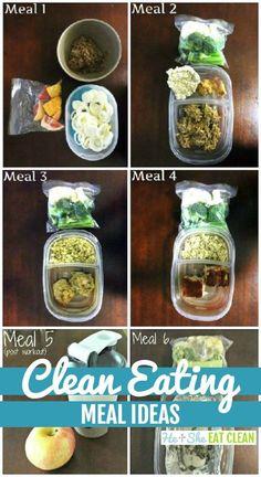 Clean eating meal ideas! #eatclean #heandsheeatclean #mealprep #foodprep