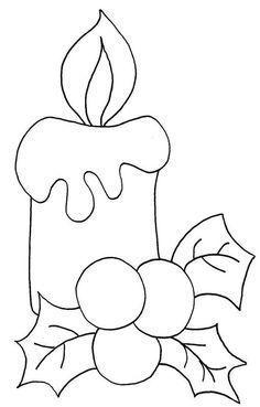 Noël de Noël de Noël Bells with Mistletoe - Coloring Page (Christmas) Embroidery Christmas Ornaments Natale 59 Super Ideas Christmas Applique, Felt Christmas Ornaments, Christmas Embroidery, Christmas Decorations, Christmas Quilting, Christmas Colors, Christmas Art, Christmas Projects, Christmas Candle