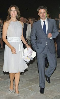 Crown Prince Frederik and Crown Princess Mary of Denmark - 2012