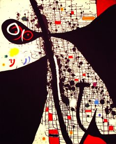 Birds of the Caves II (1971), Joan Miro