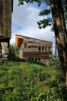 Rustic barn house in Norway