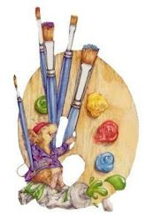 Art And Illustration, Illustrations, Watercolor Illustration, Pallet Painting, Tole Painting, Painting & Drawing, Hand Kunst, Frida Art, Artist Card