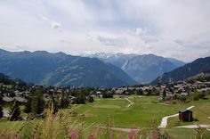 View from Verbier