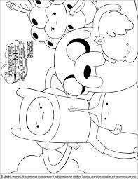 adventure time coloring pages of everyone | 1000+ images about Colouring sheets on Pinterest ...