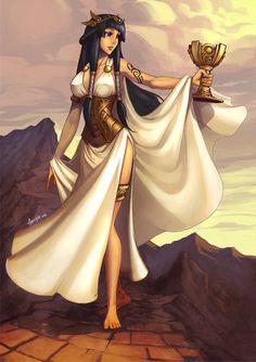 Anime Egyptian, Egyptian Women, Egyptian Goddess, Egyptian Art, Female Character Design, Character Art, Fantasy Characters, Female Characters, Alternative Disney Princesses
