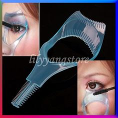 3in1 Mascara Applicator Guide Tool Eyelash Comb Makeup  $1.78......i will order it for sure!