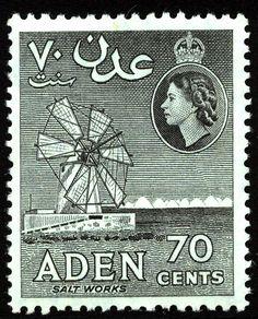 King George VI Postage Stamps: Aden 1953 (15 June) - 63 SG48/72