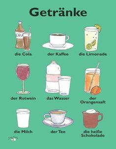 Bebidas. Betränke
