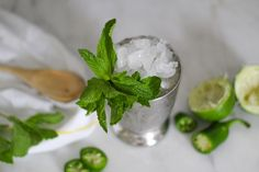 A Jalapeño-Lime Julep – For Derby Day and Cinco de Mayo