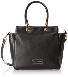 Women's Shoulder Bags - Marc by Marc Jacobs Womens Too Hot To Handle Bentley Tote Black One Size -- Find out more about the great product at the image link.