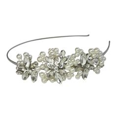 Halo and Co Peruda Bridal Headband - Bridal Jewellery - Crystal Bridal Accessories