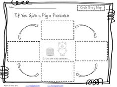 Circle Story Map for If You Give a Pig a Pancake