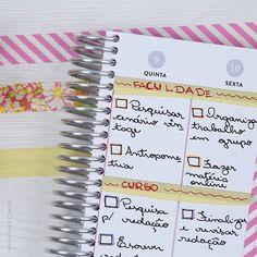 Use o My Planner para planejar seus estudos e alcançar seus objetivos! www.myplanner.com.br