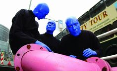BLUE MAN GROUP Berlin Street Pipes Photocredit\ Anamel #BlueManGroup #ClassicCenterTheatre #Athens #AskaTicket
